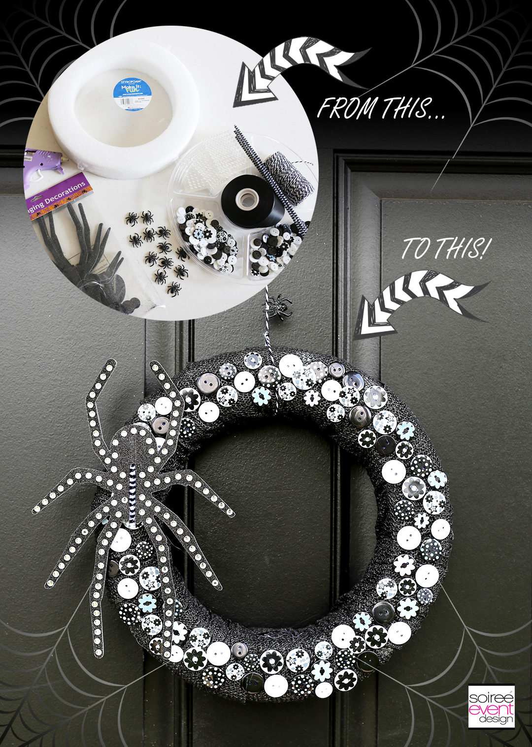 diy-halloween-wreath-tutorial-bling-spider