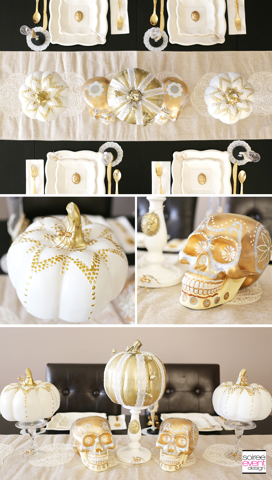gold-halloween-decorations