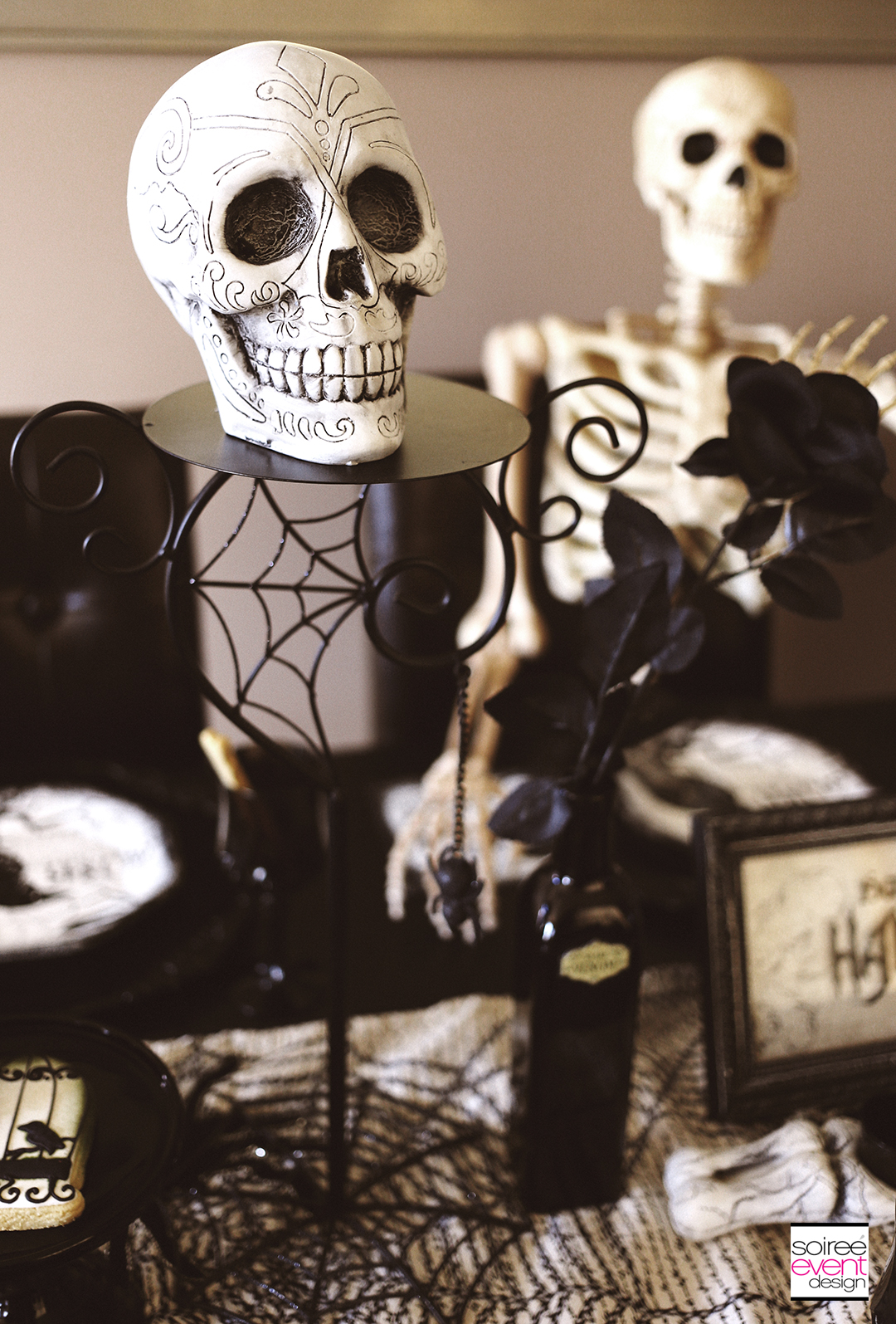 Quot Spooky Soiree Quot Halloween Dinner Party Soiree Event Design
