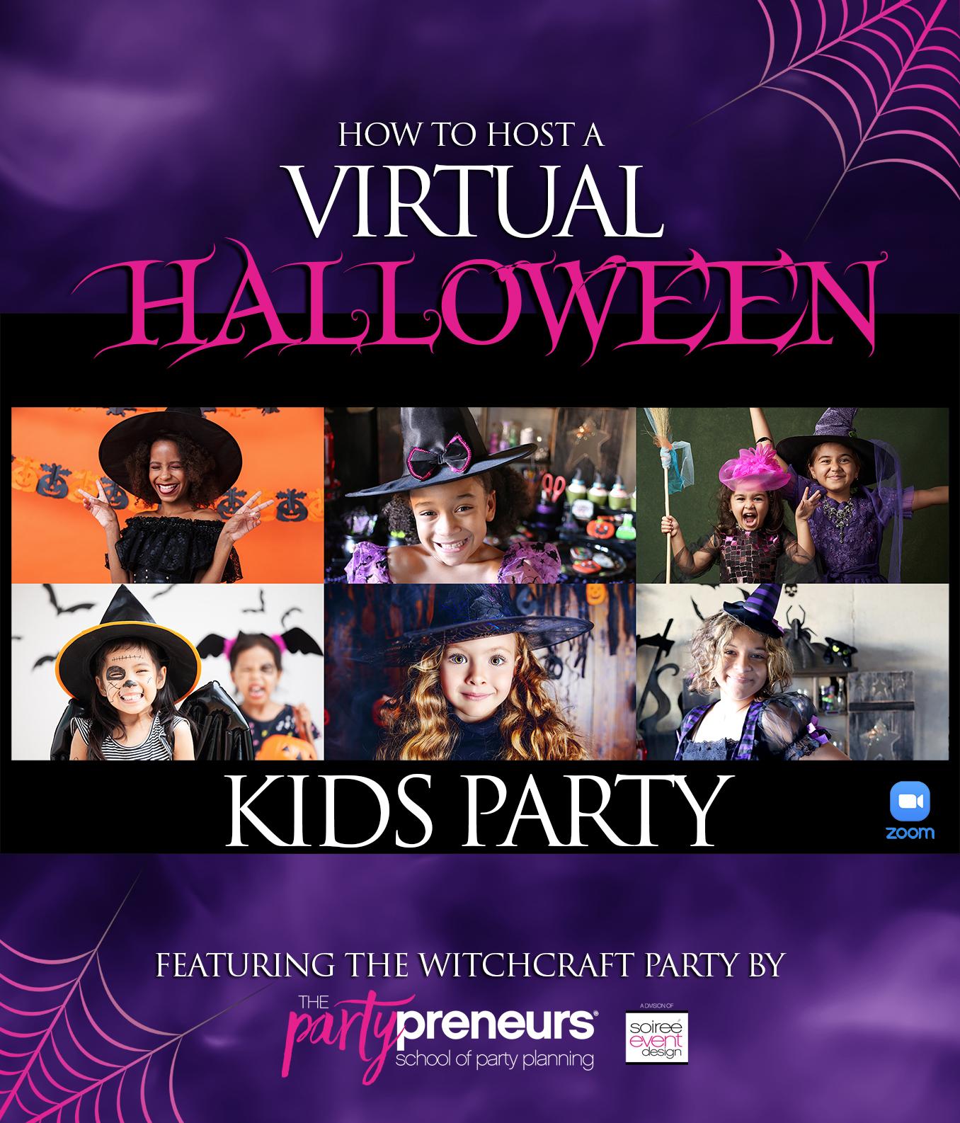Virtual Halloween Kids Party