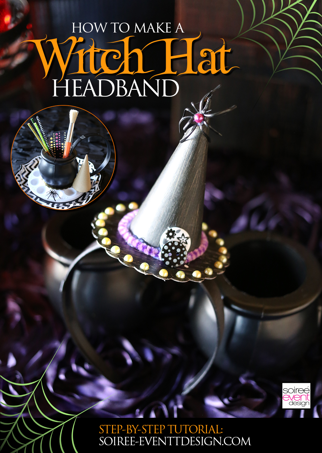 how-to-make-a-witch-hat-headband