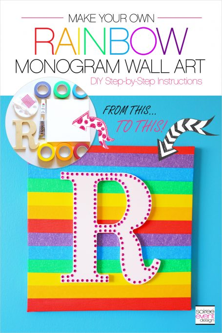 DIY Rainbow Wall Art
