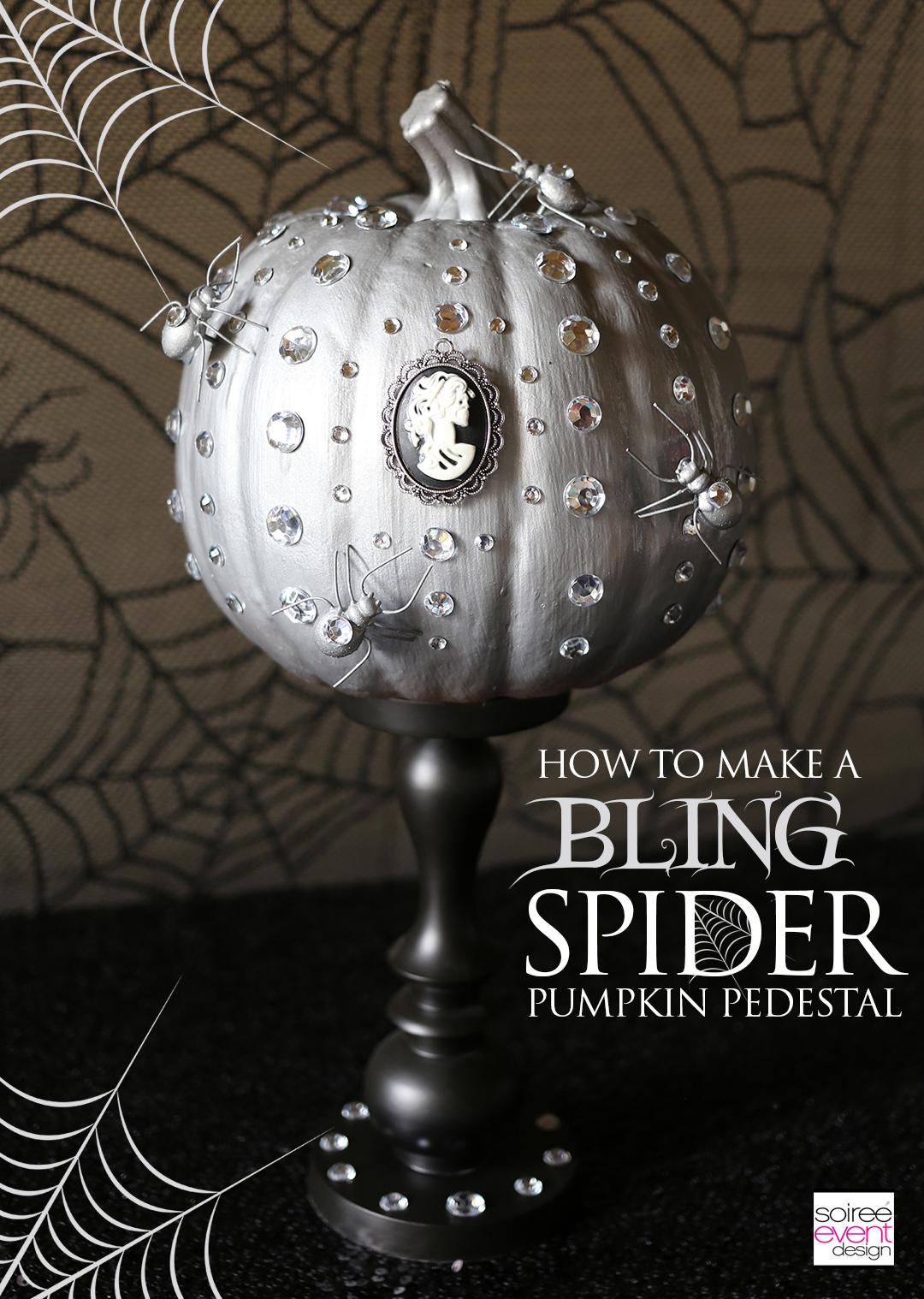 pumpkin-decorating-ideas-diy-bling-spider-pumpkin