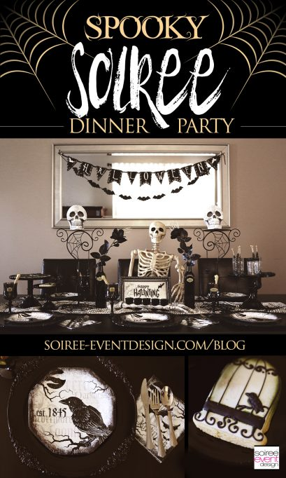 """Spooky Soiree"" Halloween Dinner Party"