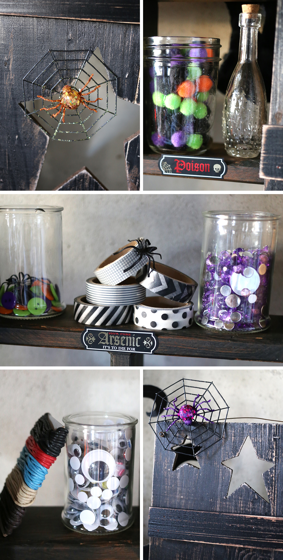 Witchcraft halloween craft party soiree event design for Halloween party favor ideas