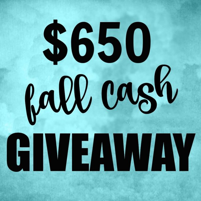 Enter to Win $650 in our Fall Giveaway!
