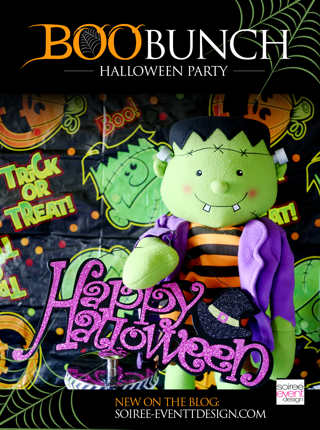"kid friendly halloween party ideas - ""boo bunch"" - soiree event design"