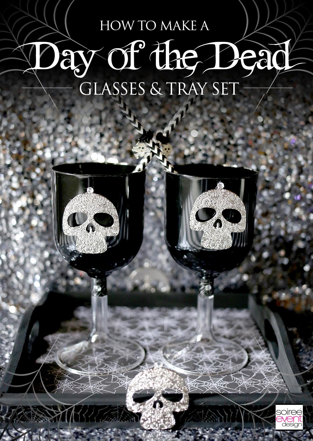 diy-day-of-the-dead-decorations-glasses-and-tray