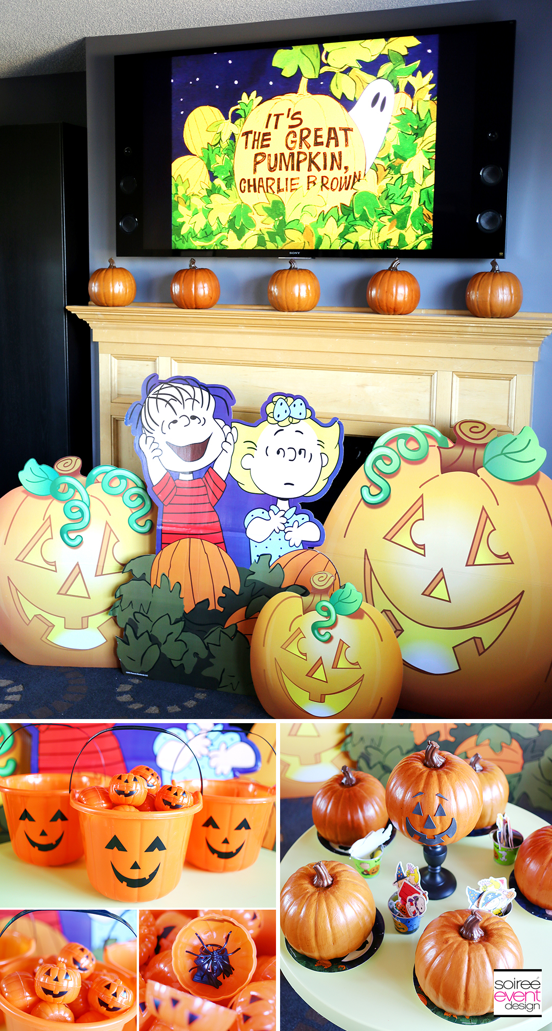 It 39 s the great pumpkin charlie brown halloween party for How to have a great halloween party