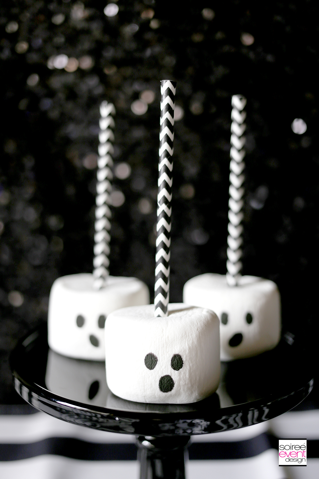 Quick and Easy Halloween Desserts Ghost Pops Soiree Event Design