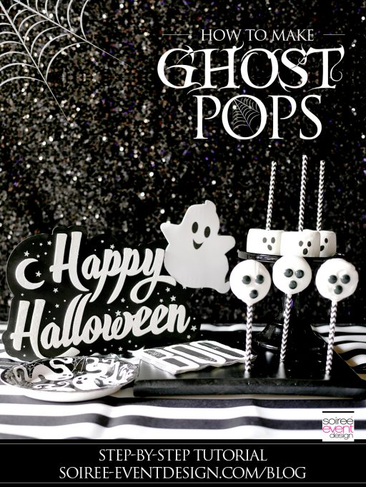 Quick and Easy Halloween Desserts – Ghost Pops!