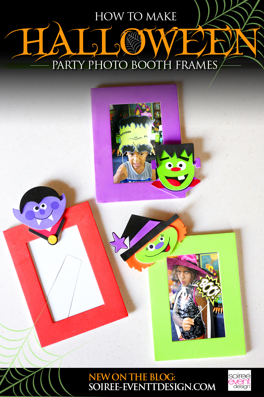 How to Make Halloween Party Frames, Halloween Frames