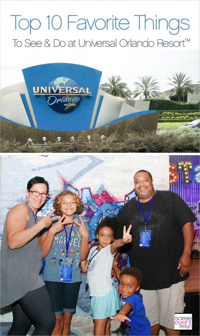 Top 10 Favorite Things at Universal Orlando Resort