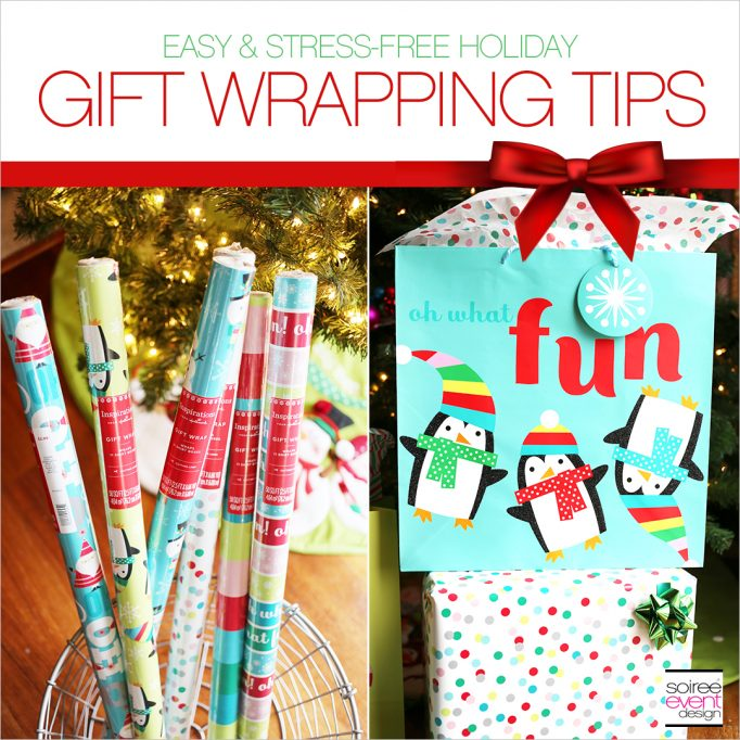 Easy and Stress-Free Christmas Gift Wrapping Tips!