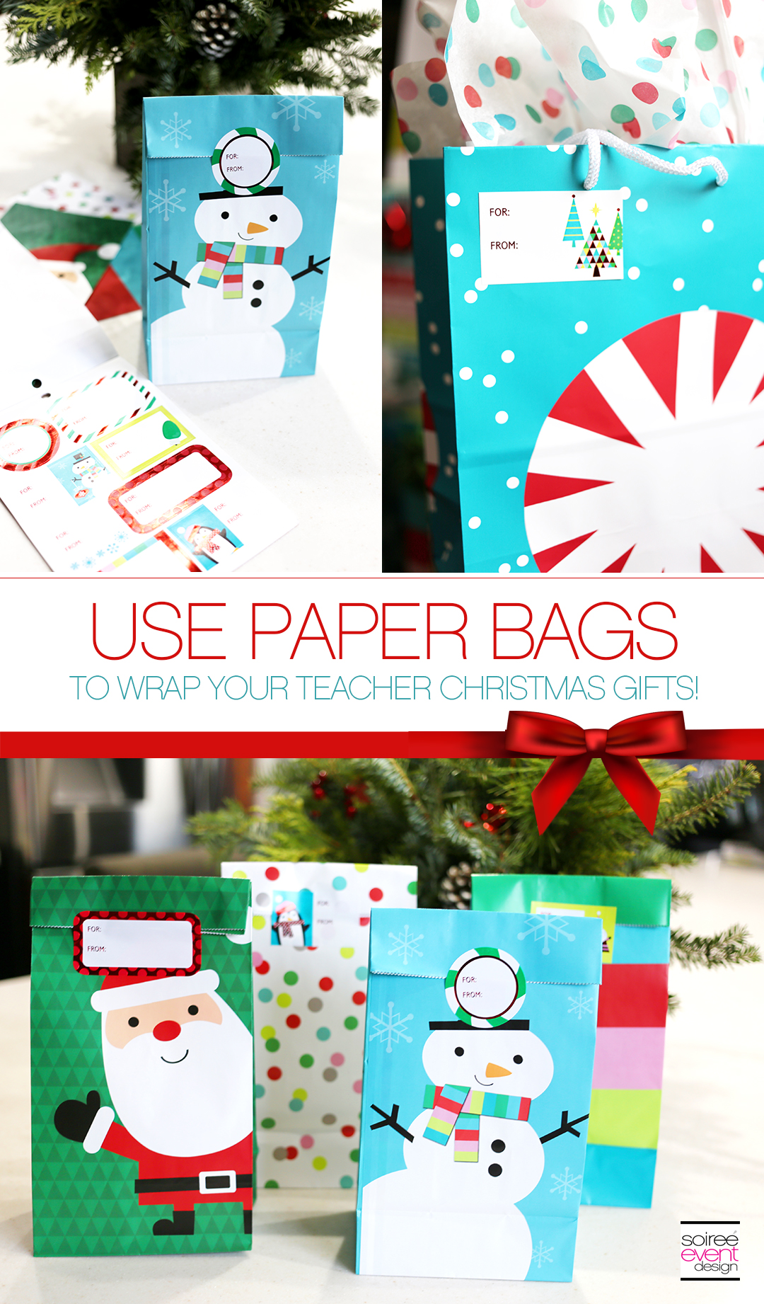 Gift Wrapping Tips - Paper Bags