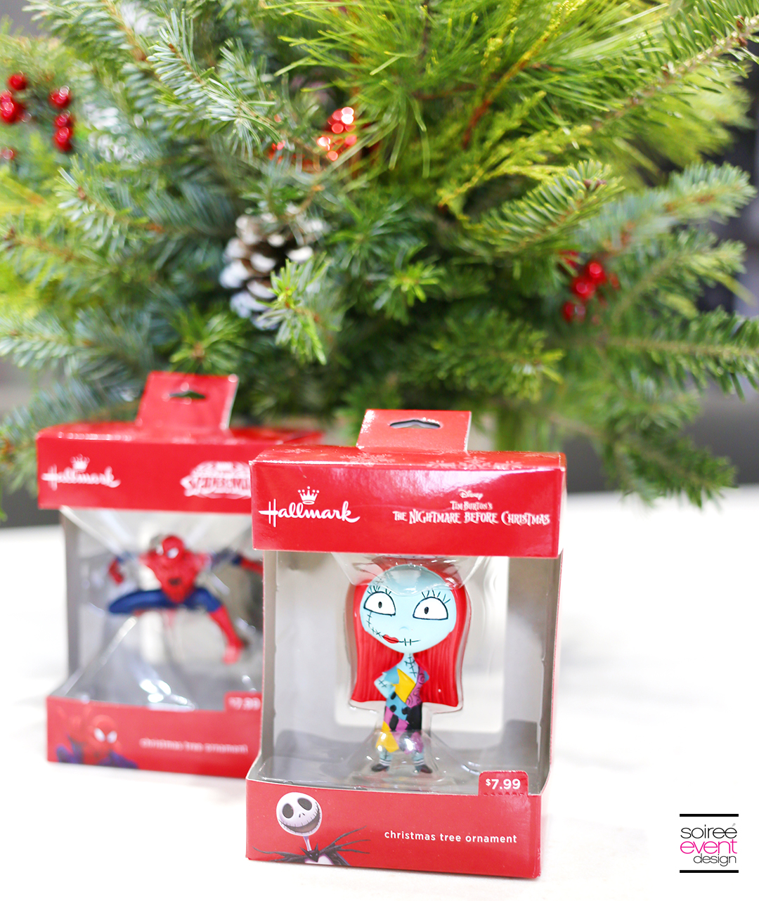 Hallmark licensed ornaments