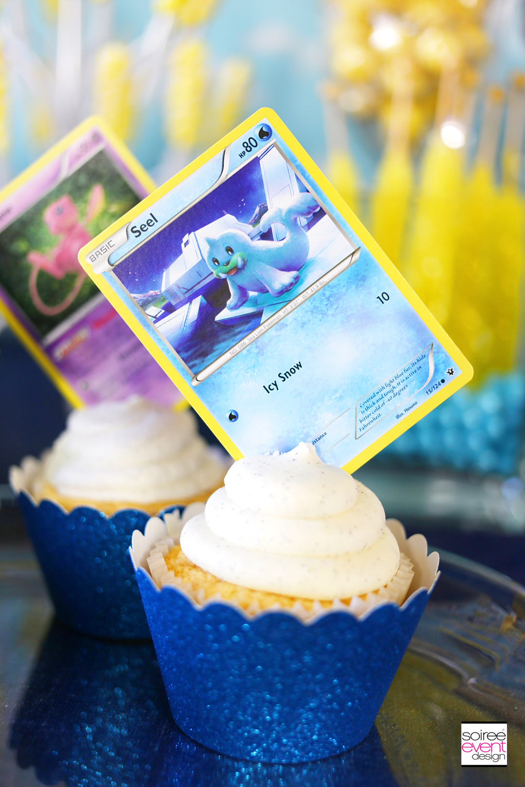 Pokemon Party Cupcake Toppers