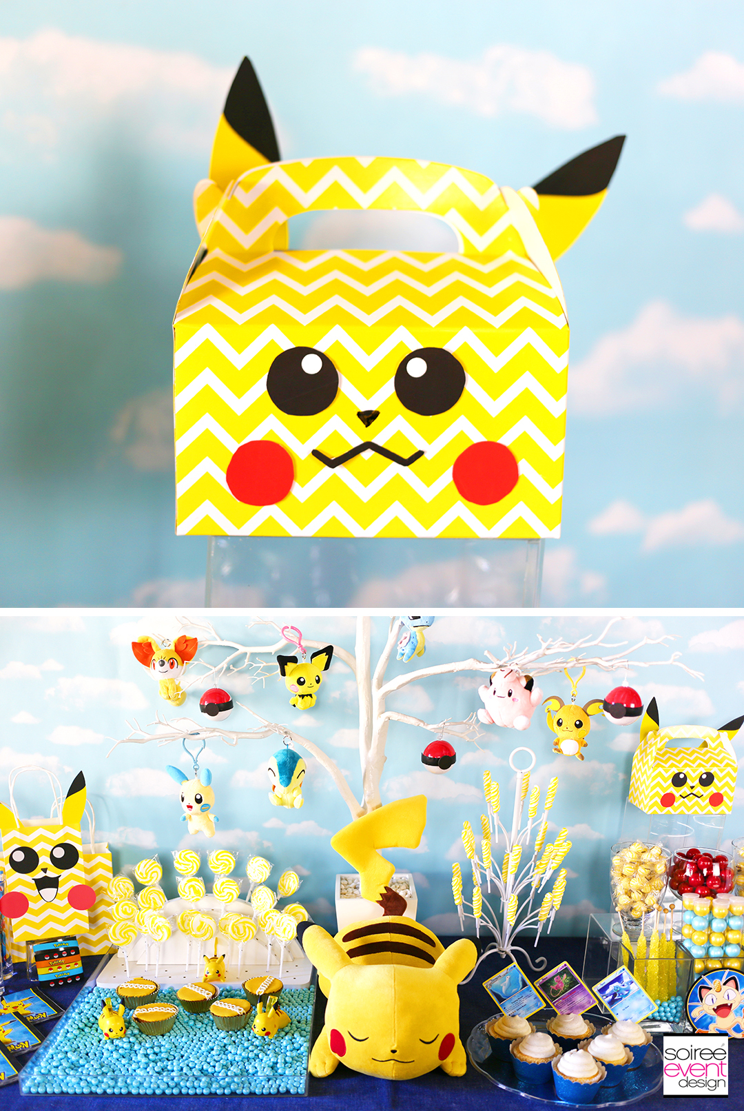 Pokemon Party Ideas, Pokemon Decorations