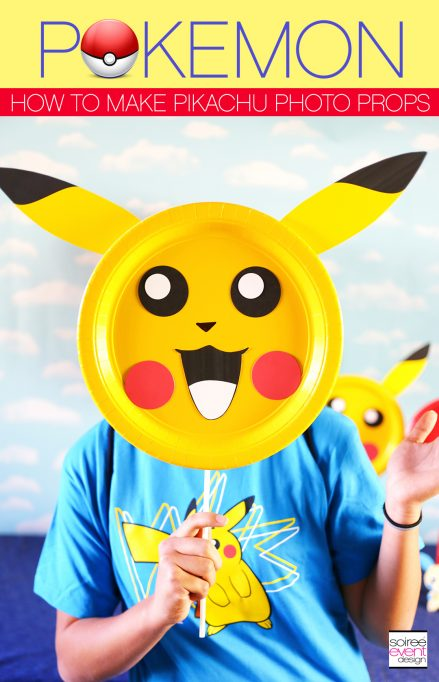 Pokemon Party Ideas – DIY Pokemon Photo Prop Sticks!