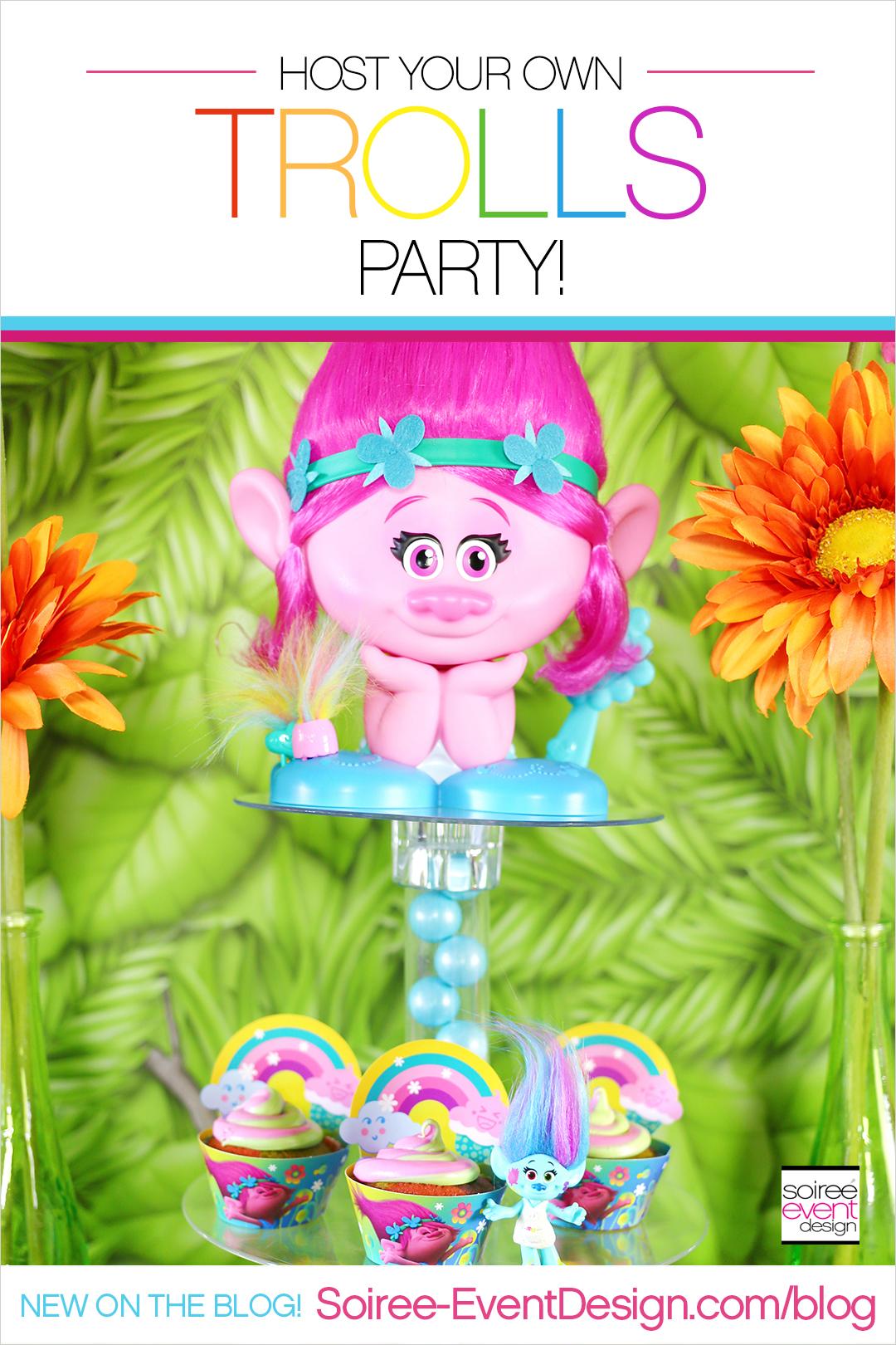 Trolls Party Ideas