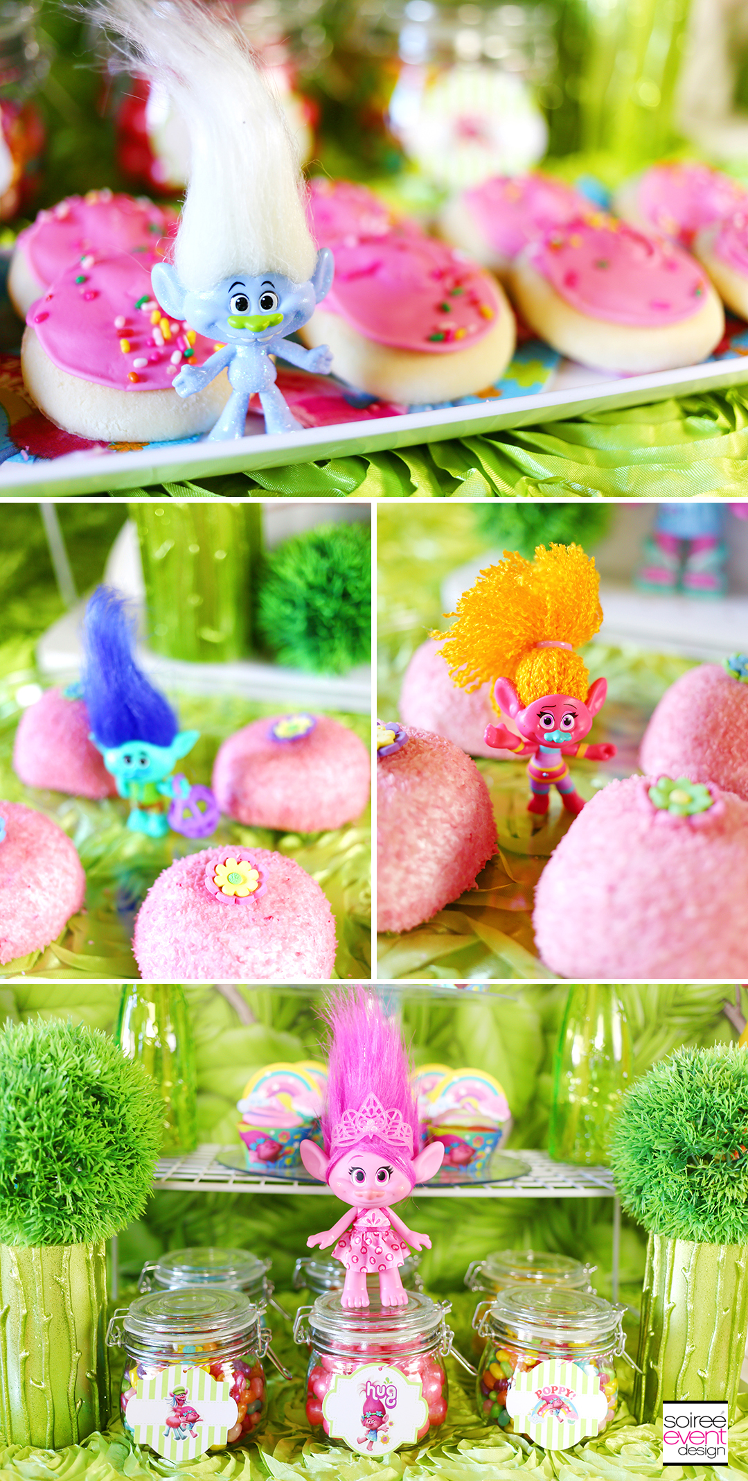 Trolls party ideas - Trolls Desserts