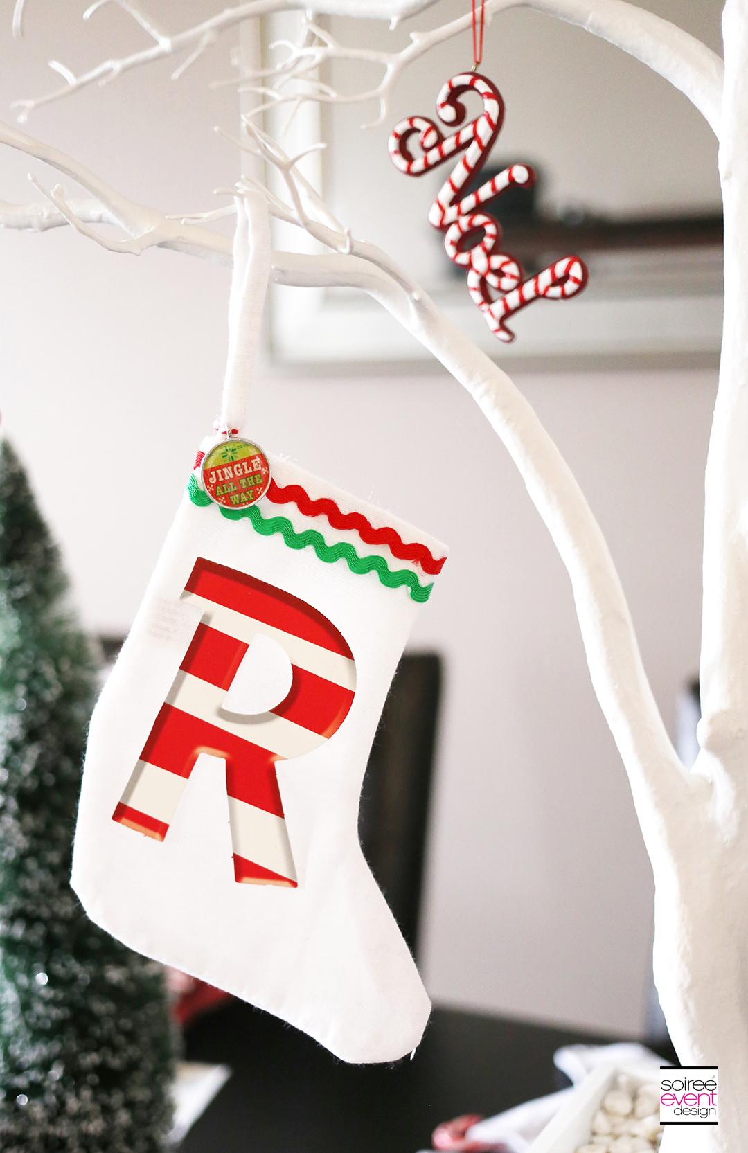 Christmas Gift Wrapping Party, Christmas DIY Stockings