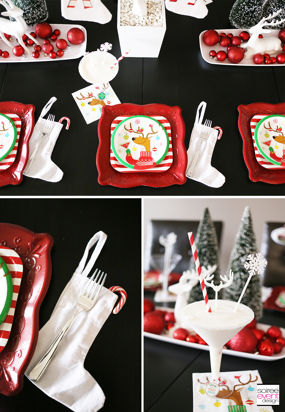 Christmas Gift Wrapping Party, Christmas party supplies
