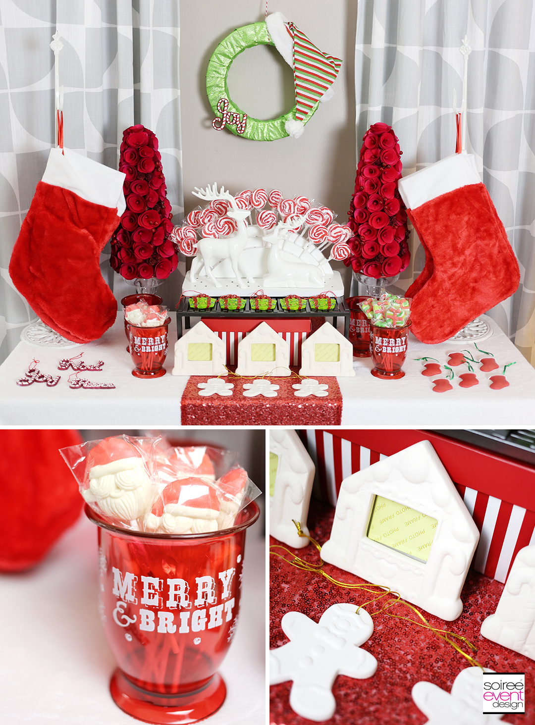 Gift Wrapping Party - Stocking Stuffer Favor Bar