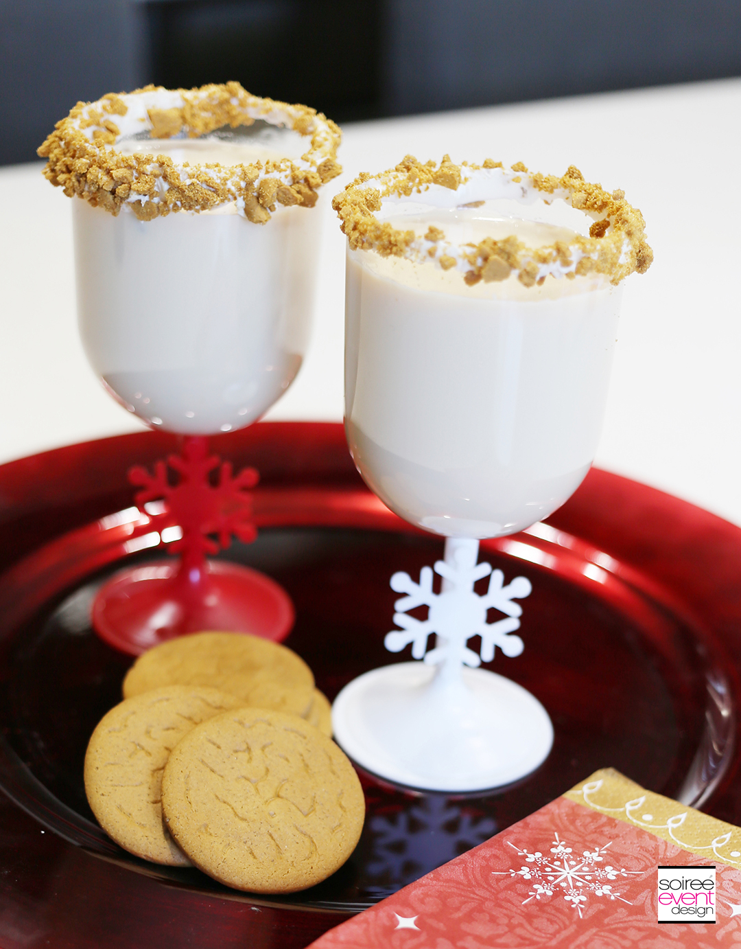 Holiday Cupcakes and Cocktails, Gingerbread Cocktails