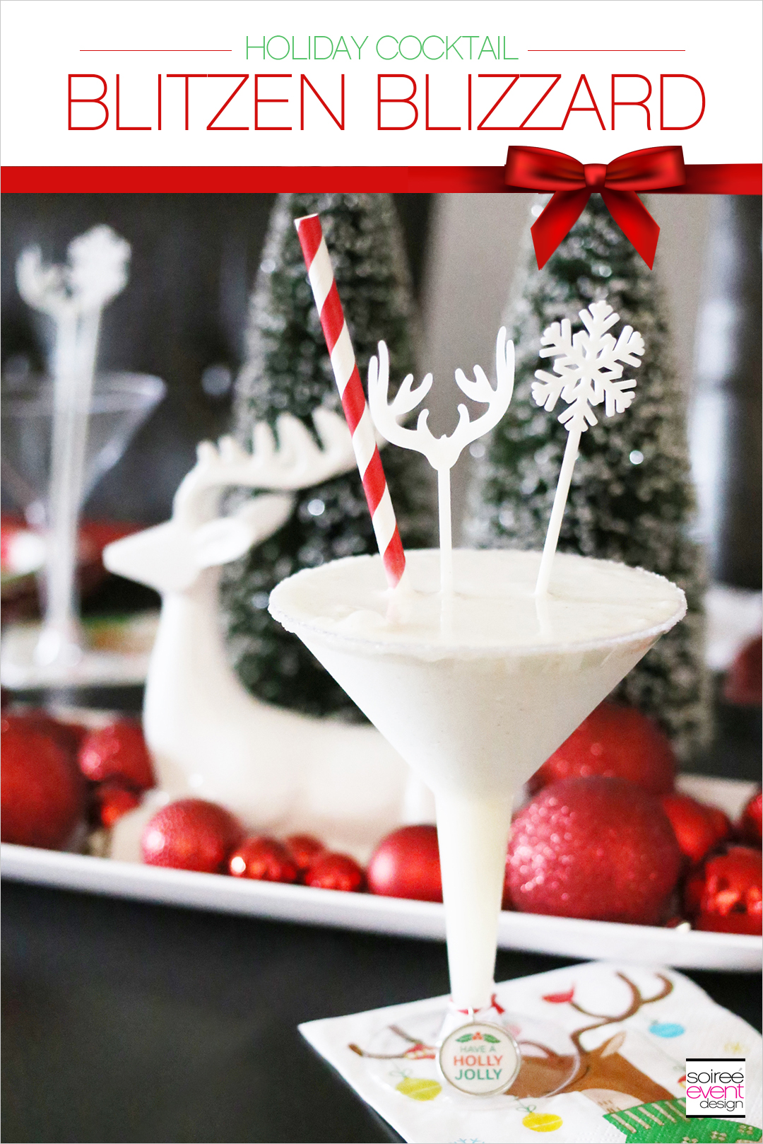 Holiday Cocktails, Blitzen Blizzard