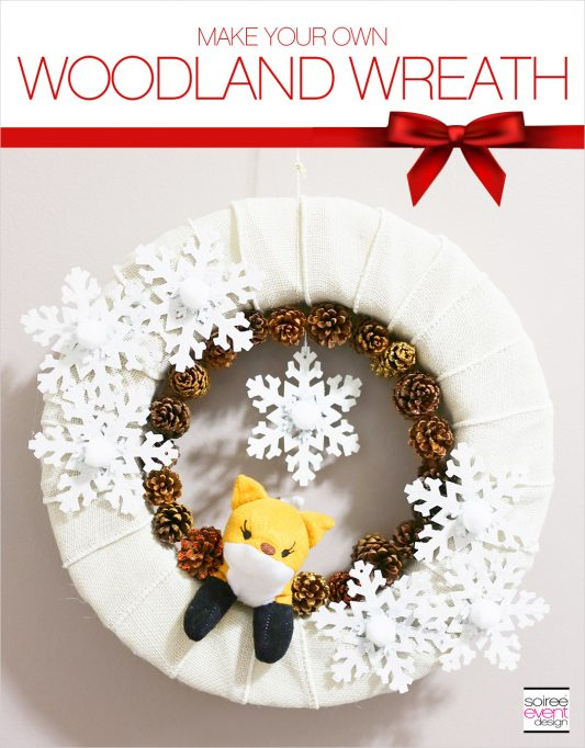 How to Make a DIY Woodland Christmas Wreath!