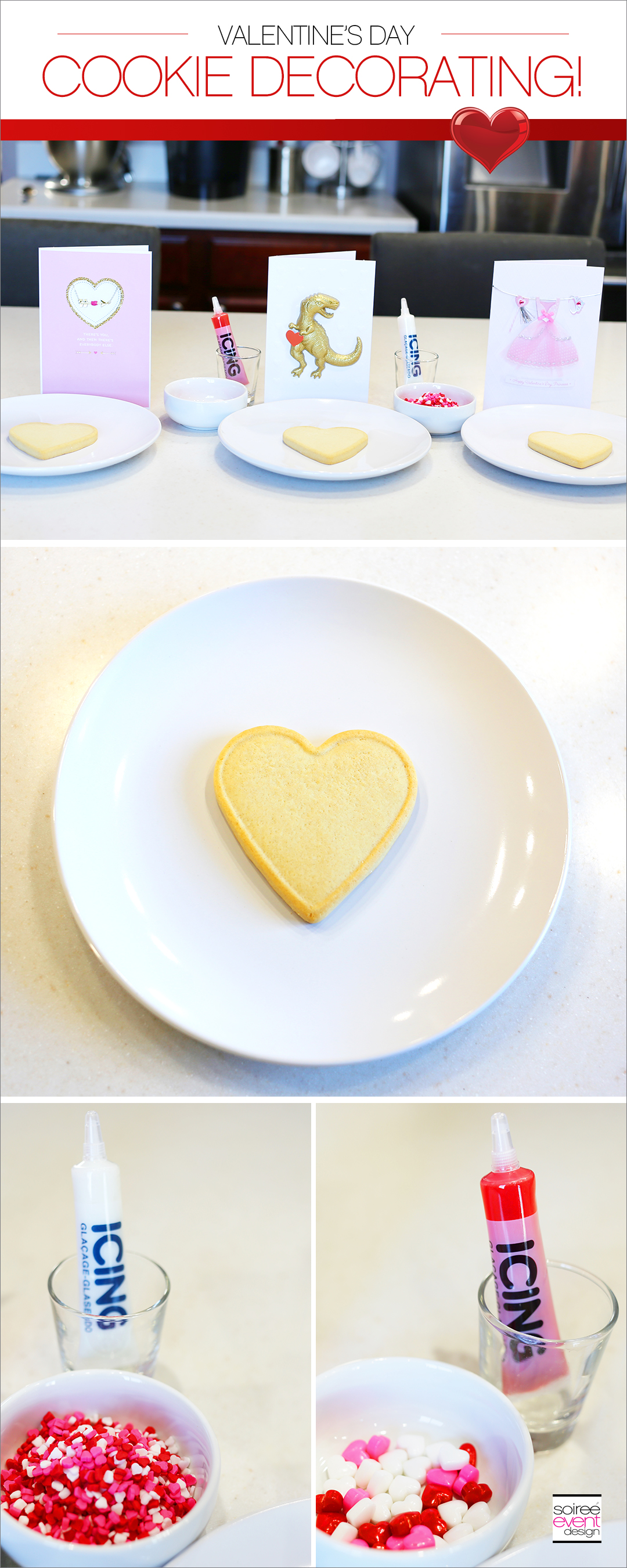 Hallmark Valentines Day Cookie Decorating