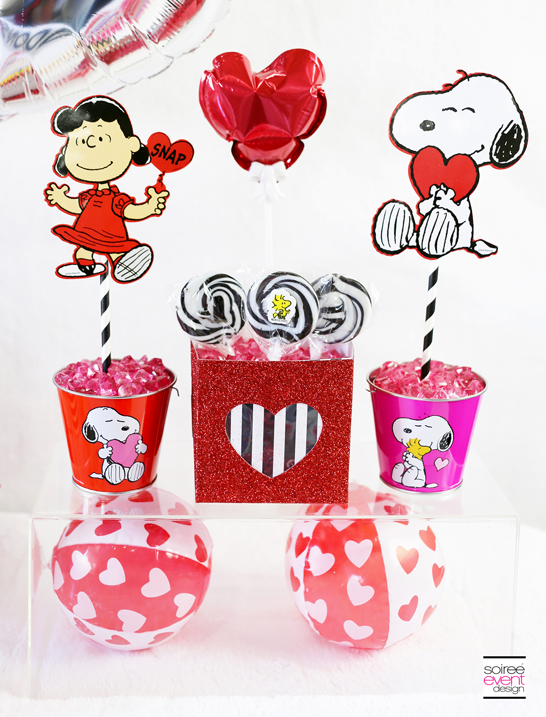 Peanuts Valentines Day Party