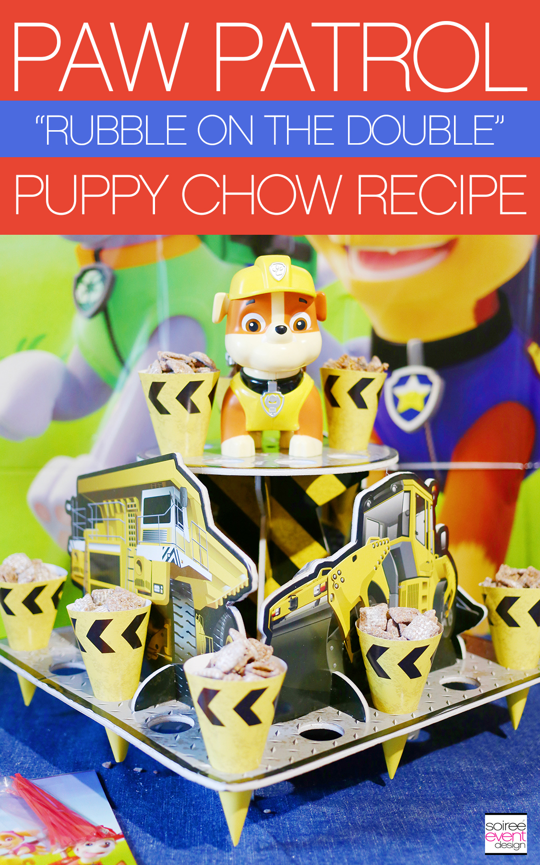 How to Make Paw Patrol Puppy Chow