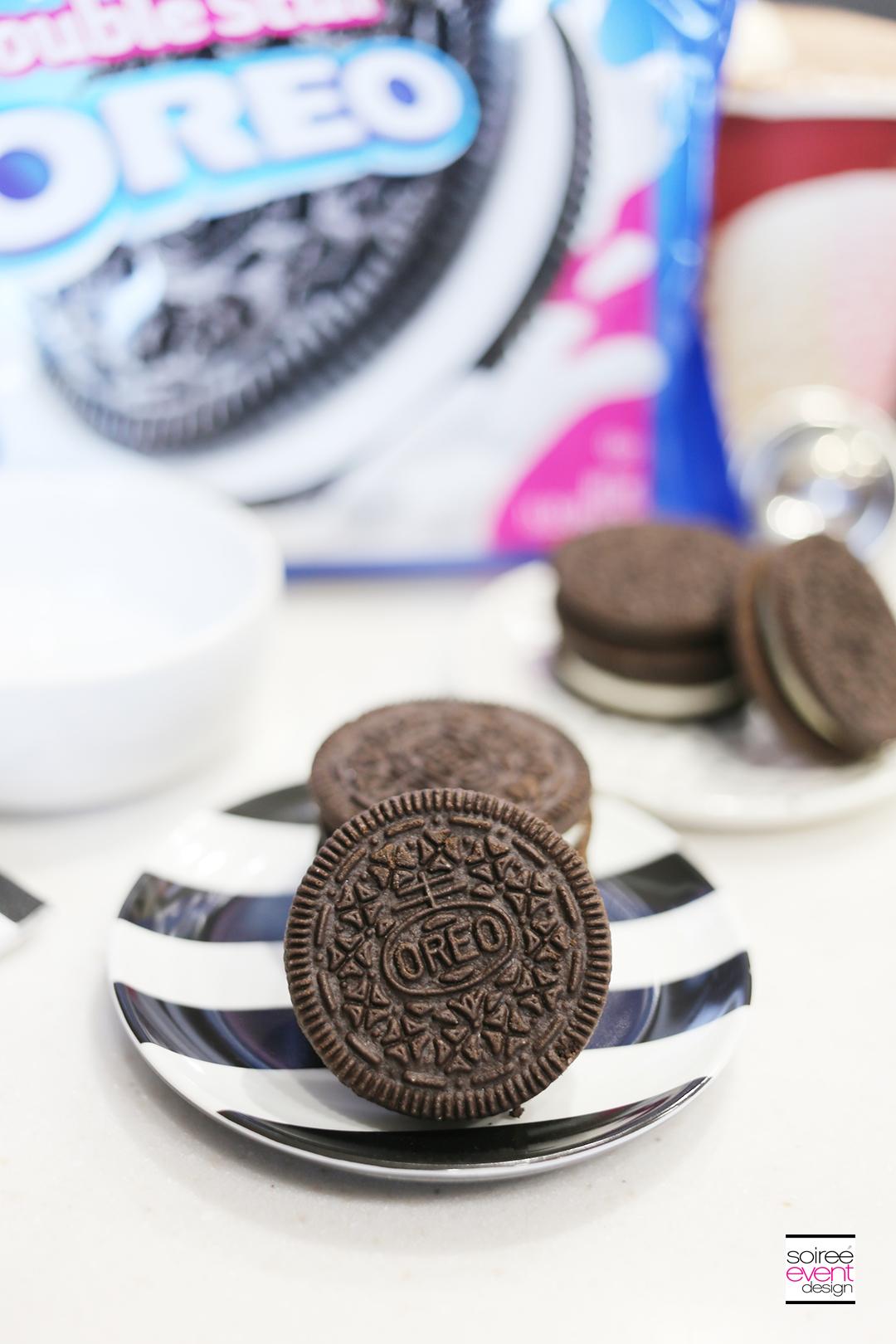 OREO Dunk Challenge - Oreo cookies