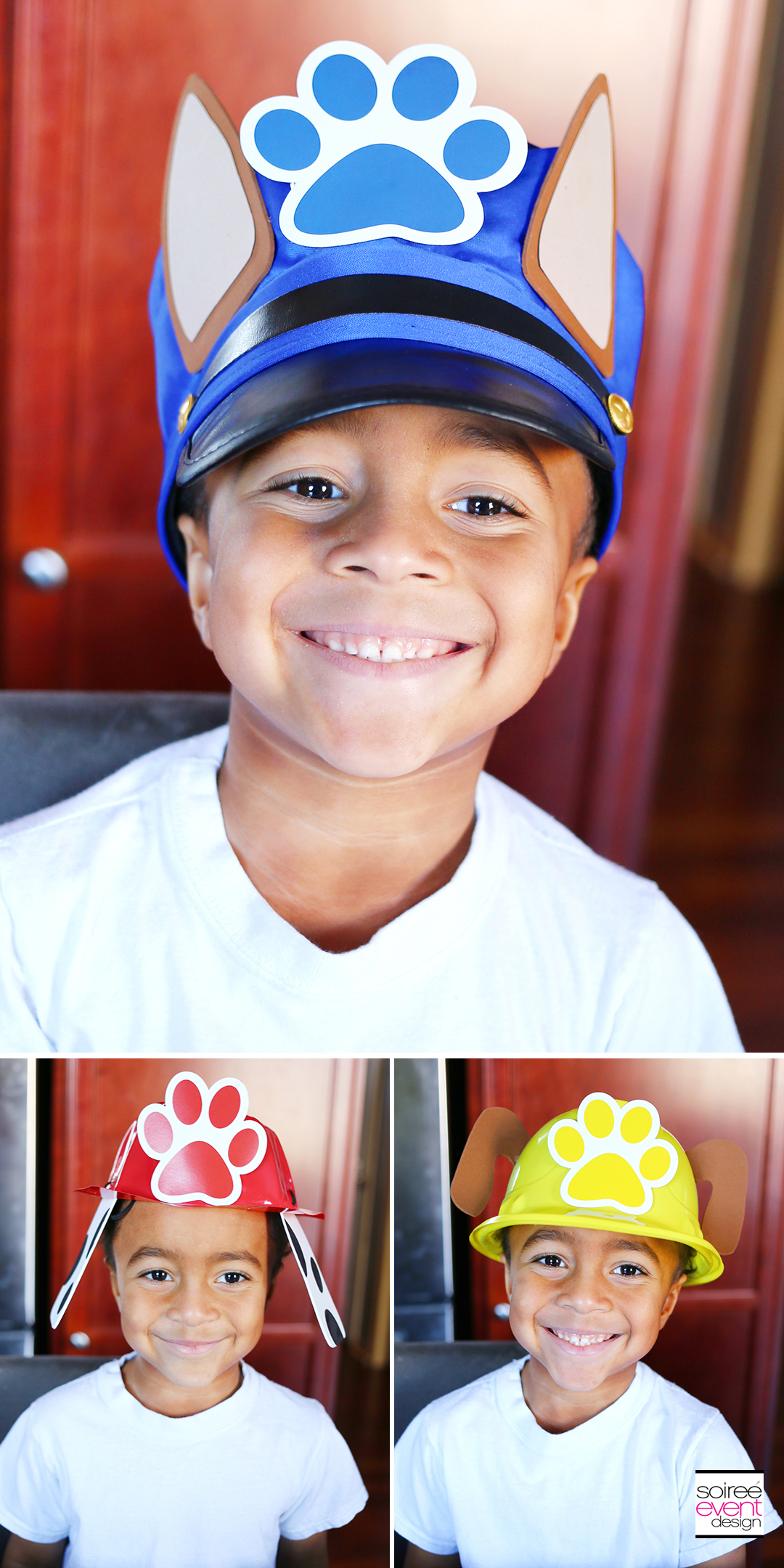 Paw Patrol DIY Puppy Hats