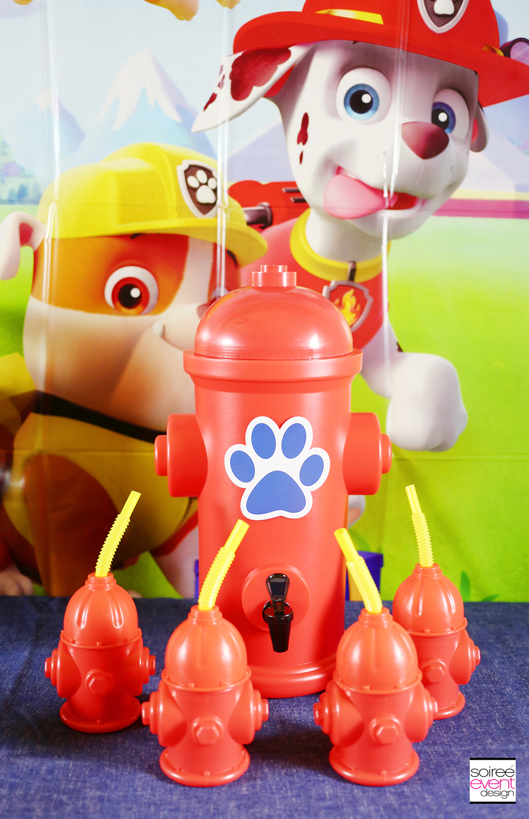 Paw Patrol Party Drink Station - Hydrant dispenser