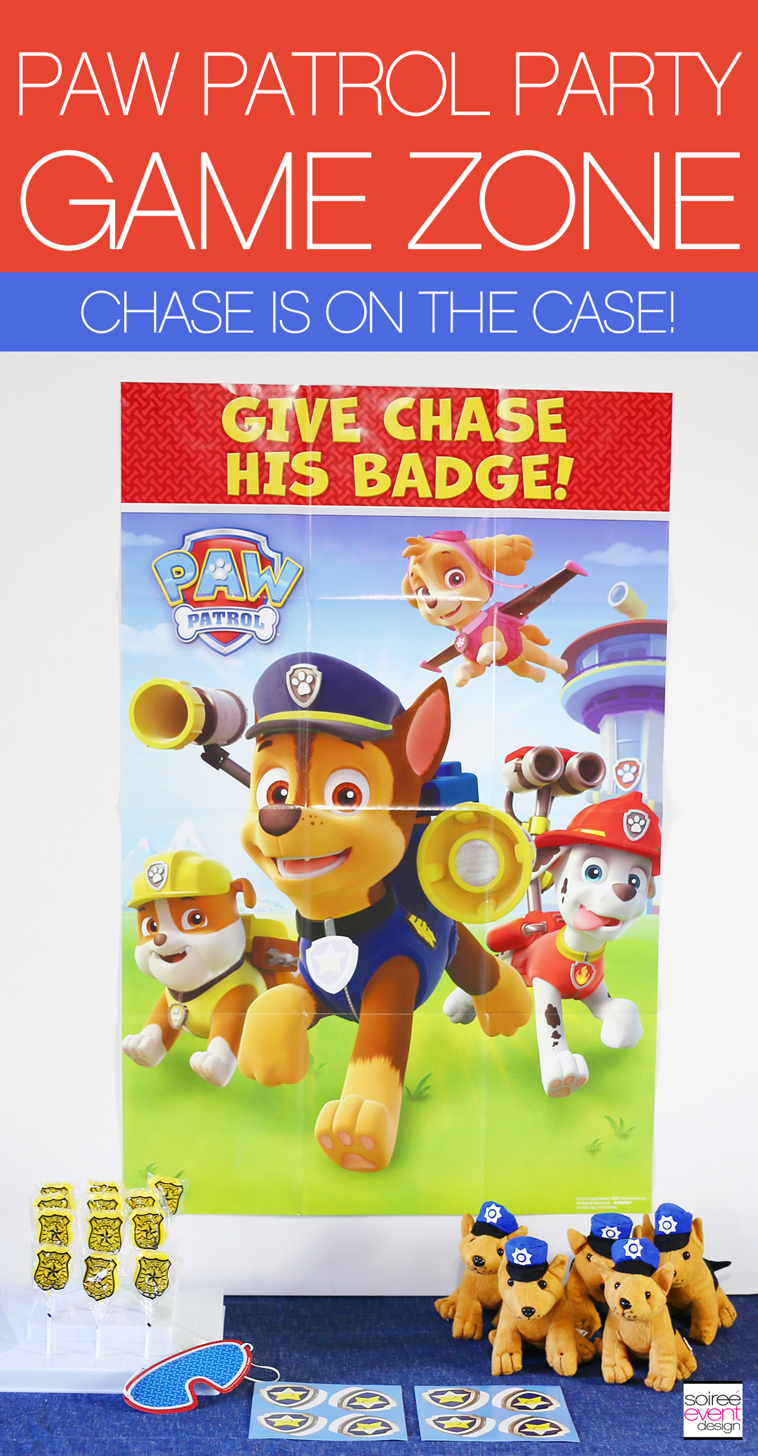 Paw Patrol Party Games - Chase is on the Case