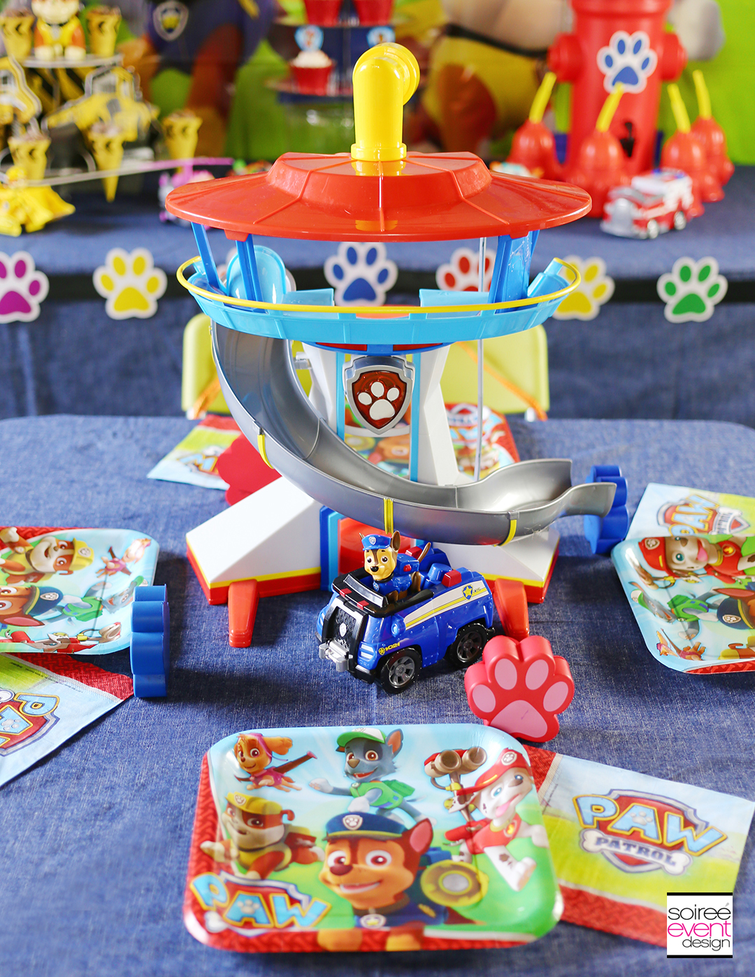 Paw Patrol Party Table