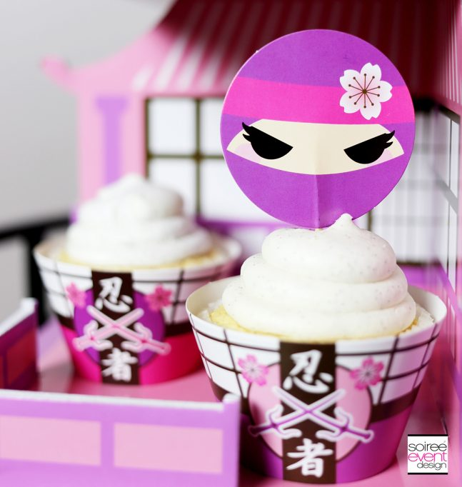 Pink Ninja Party Ideas