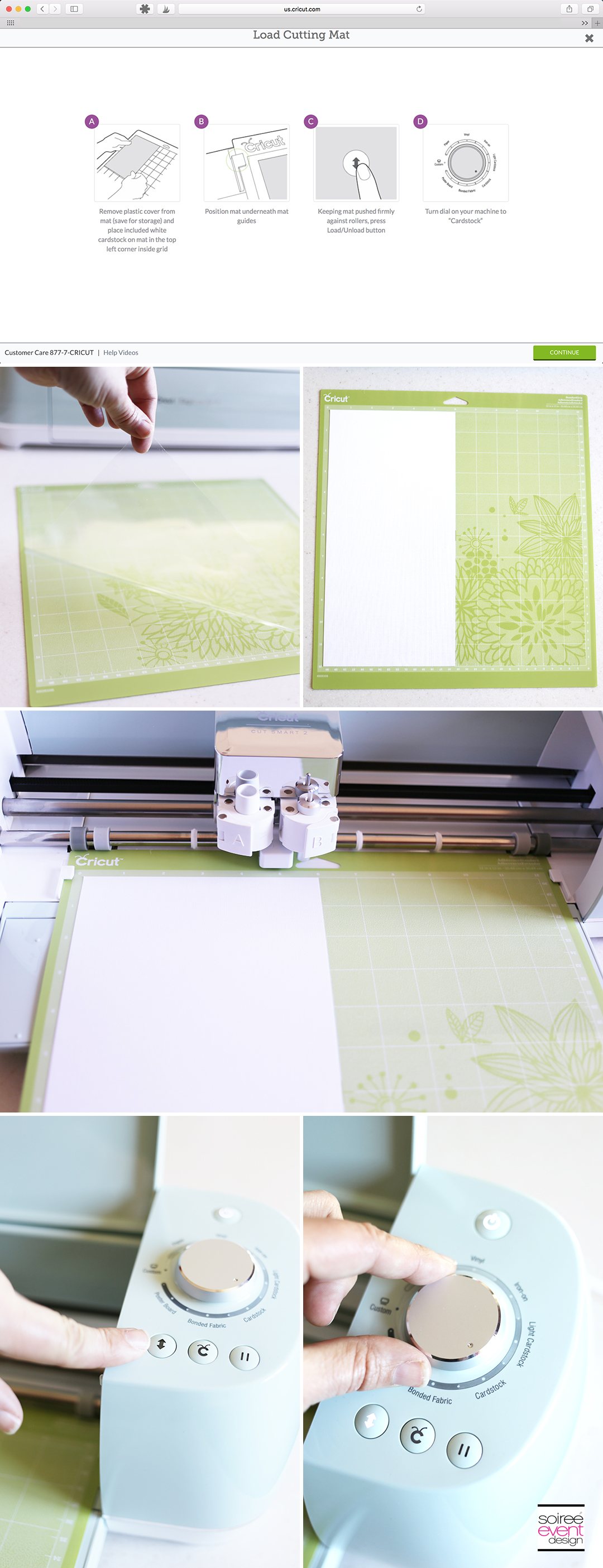 Make a Card with the Cricut Explore Air 2 - Step 2