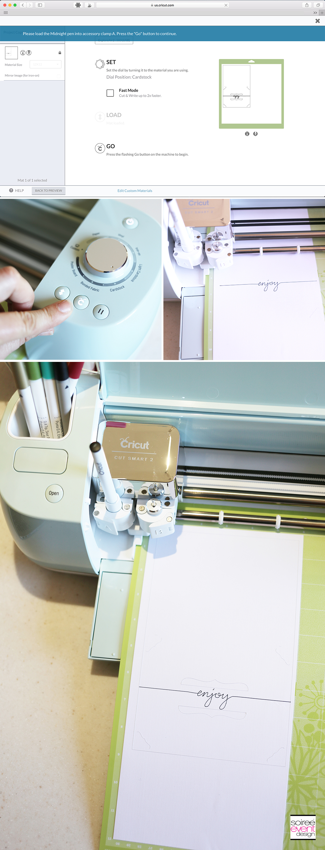 Make a Card with the Cricut Explore Air 2 - Step 4