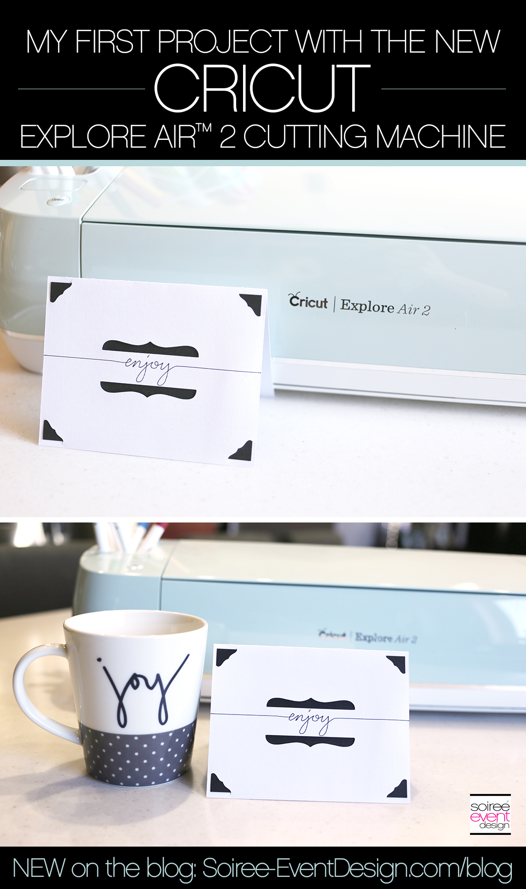 Make an Enjoy Card with the Cricut Explore Air 2