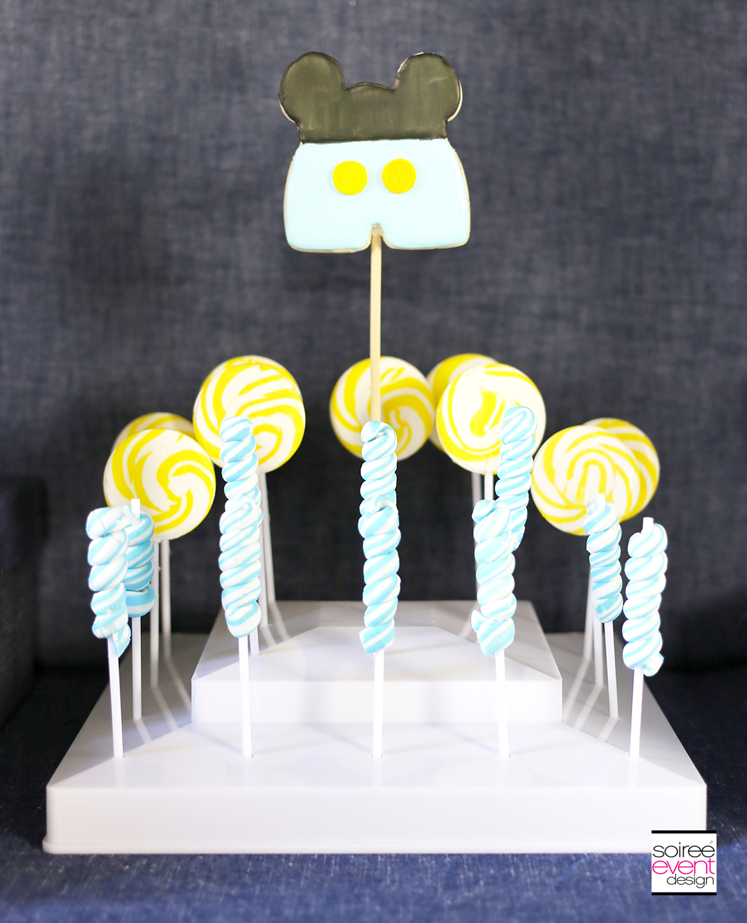 Mickey Mouse First Birthday Party Candy