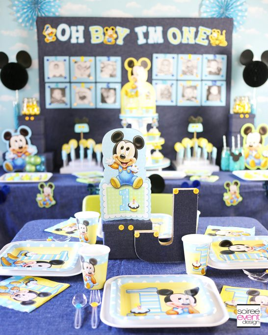 Mickey Mouse First Birthday Party Ideas
