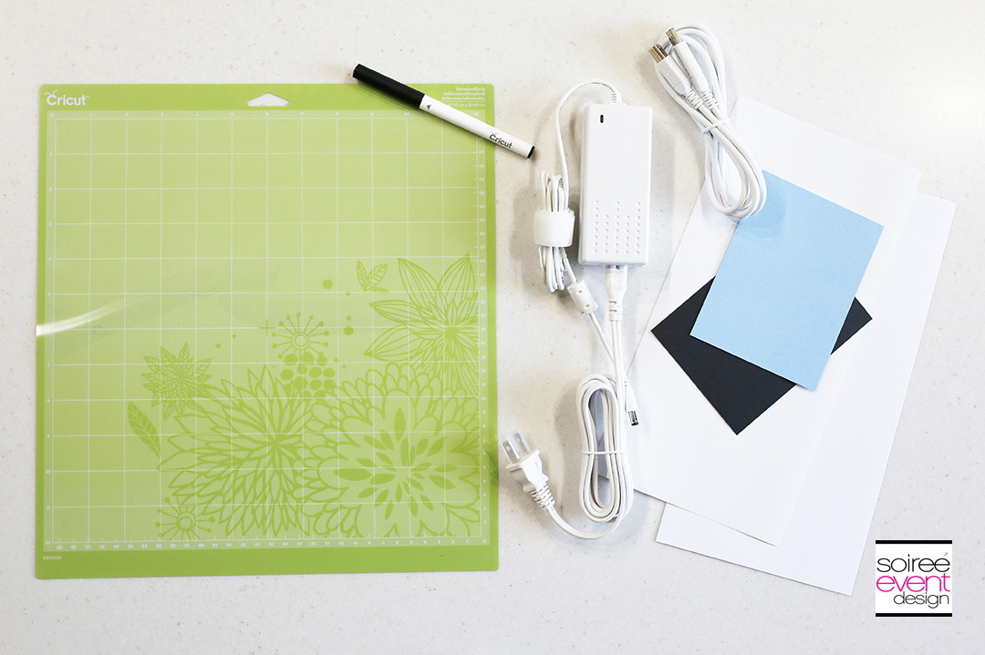 What comes in the box with the Cricut Explore Air 2