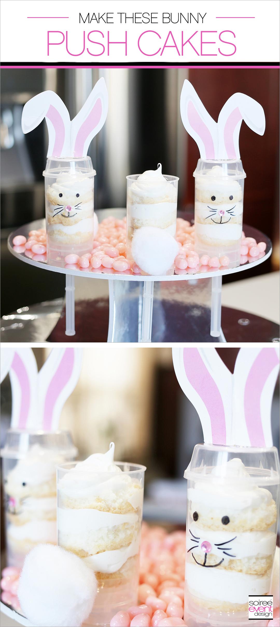 Bunny Push Cakes
