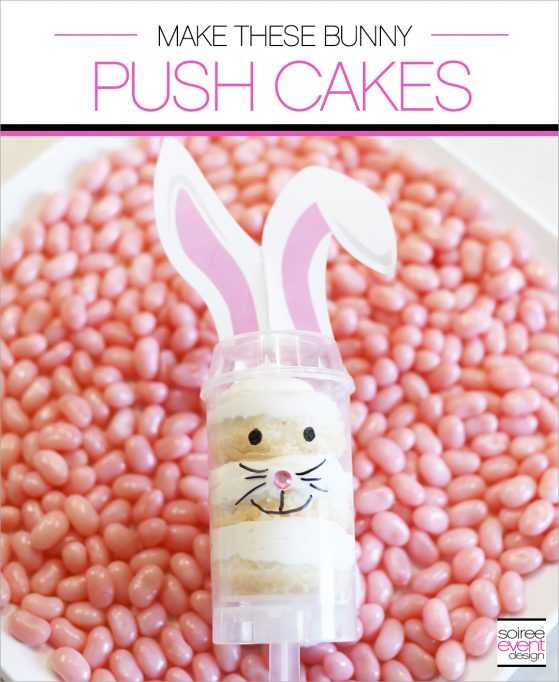 Easter Desserts - Bunny Push Cakes