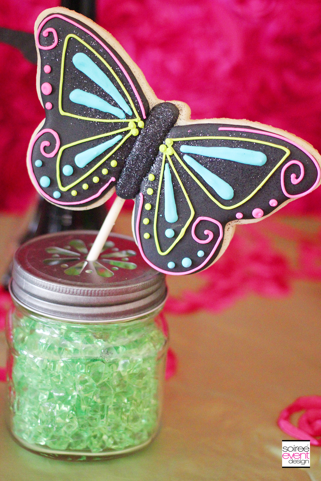 Fairy Garden Party Butterfly Cookies