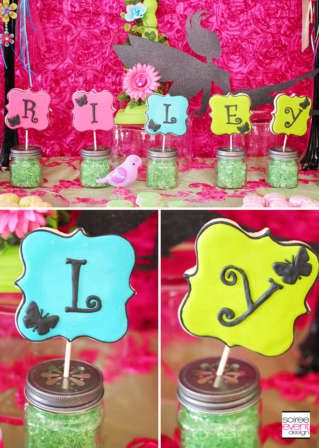 Fairy Garden Party Cookies